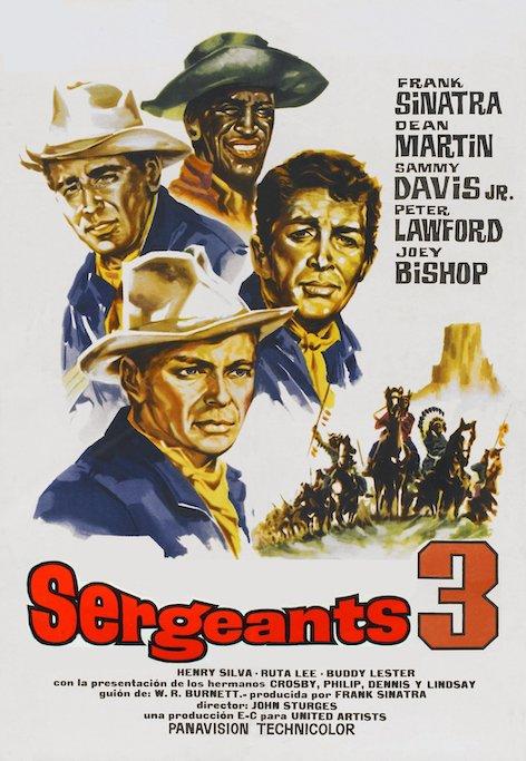 Le clairon qui ne voulait pas mourir Sergeants3-1962