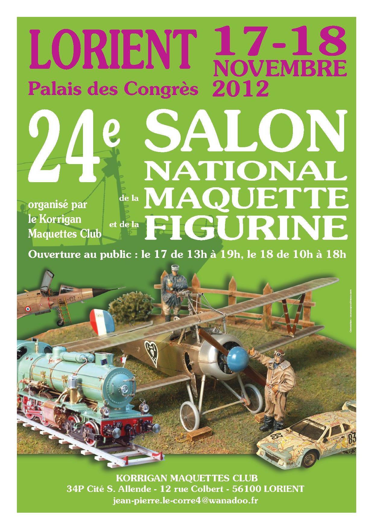 Salon de la maquette et de la figurine, Lorient 17-18 novembre 2012 AnOriant2012