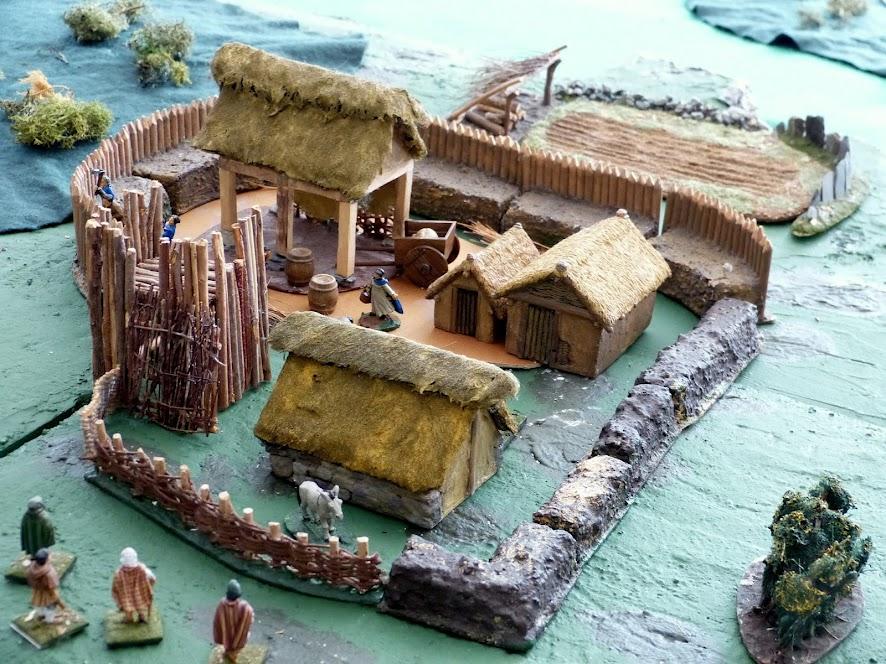 Maisons bretonnes Xème Kervillage1