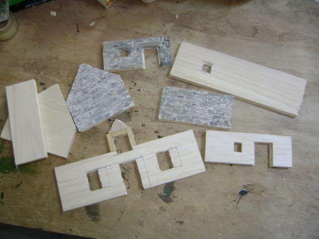 [Tuto] Remparts en plâtre - Moule en polystyrène - Page 2 Tiez3
