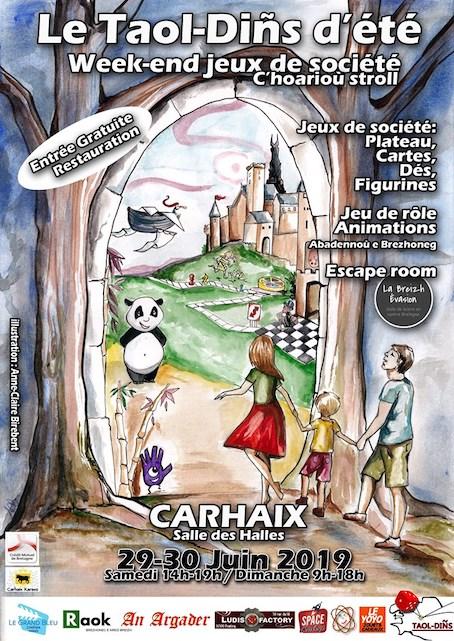 Carhaix 29-30 juin Taol-Dins-2019